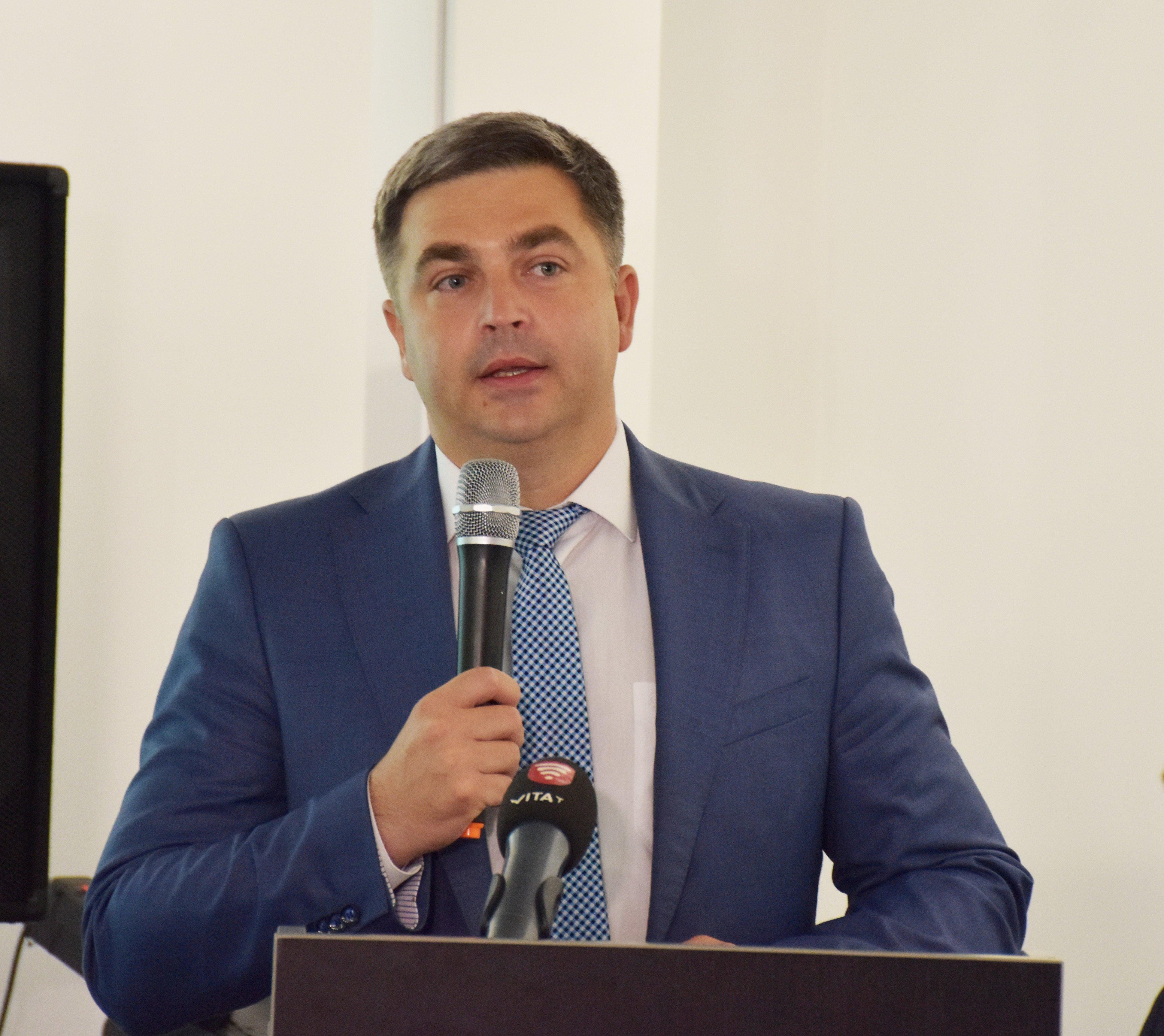 директор департамента экономики и инвестиций Винницкого городского совета Виталий Погосян
