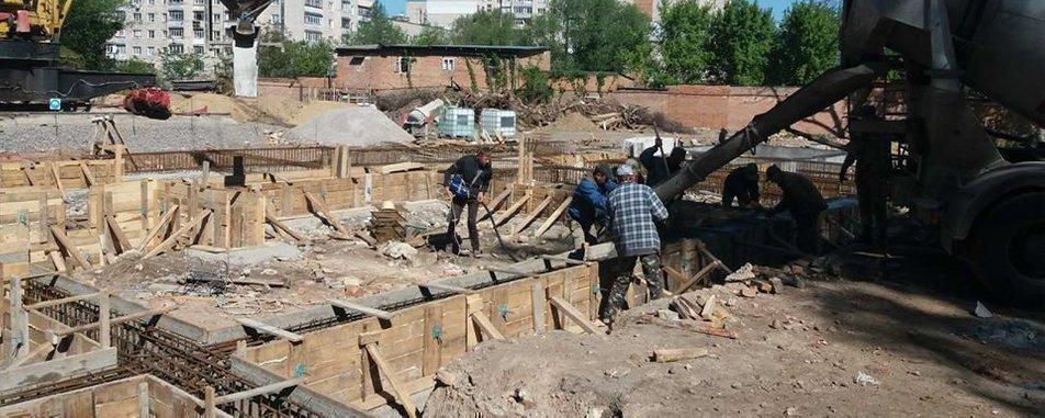 Картинка: Строительство многоэтажки в Виннице