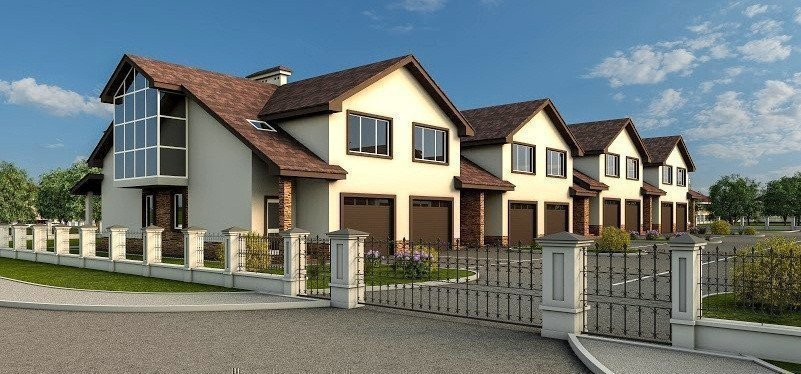 Buy a cottage town Townhouses on Patriotic