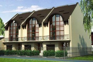 Projects of villas, townhouses, residences