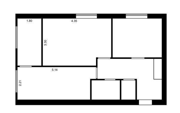 Продам квартиру в городе Гореничи. Объявление № 3121