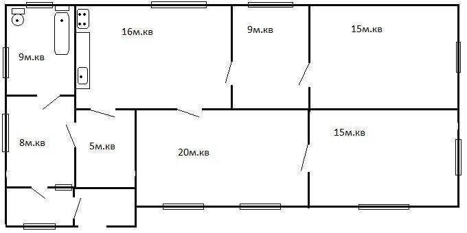 Продам дом в городе Слобода. Объявление № 3380