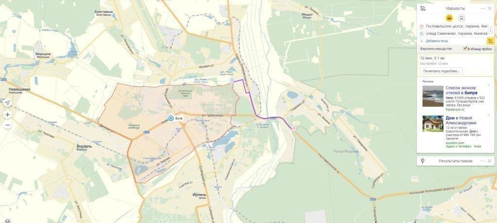 Продам земельный участок в городе Буча. Объявление № 5375