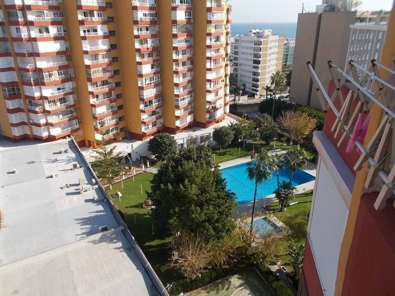 Sale property abroad Studio on the first line of the beach in Benalmadena
