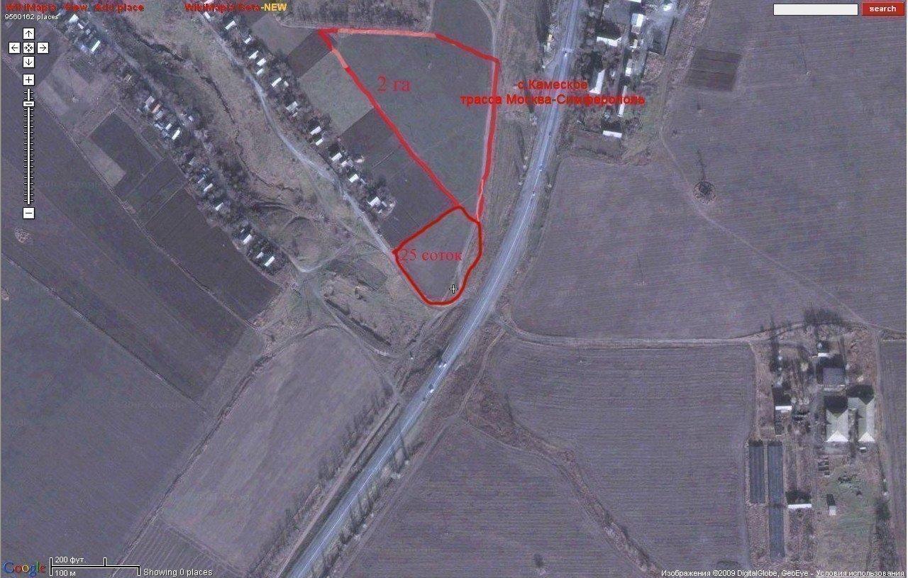 Фото: Продам земельный участок в городе Каменское. Объявление № 5461