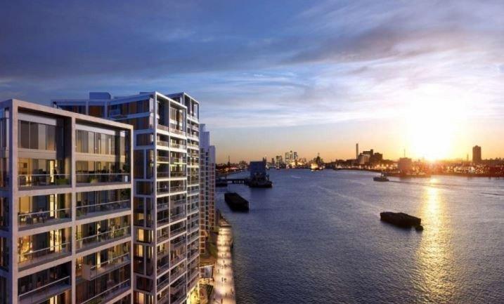 Продам недвижимость за рубежом Продаю квартиру с видом на реку Темзу
