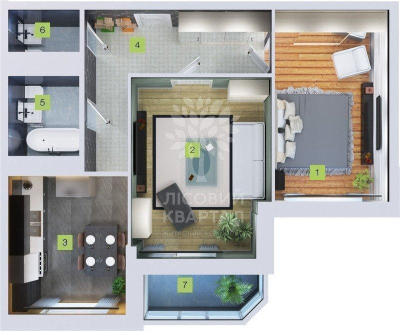 Фото: Продам квартиру в місті Бровари. Оголошення № 5766