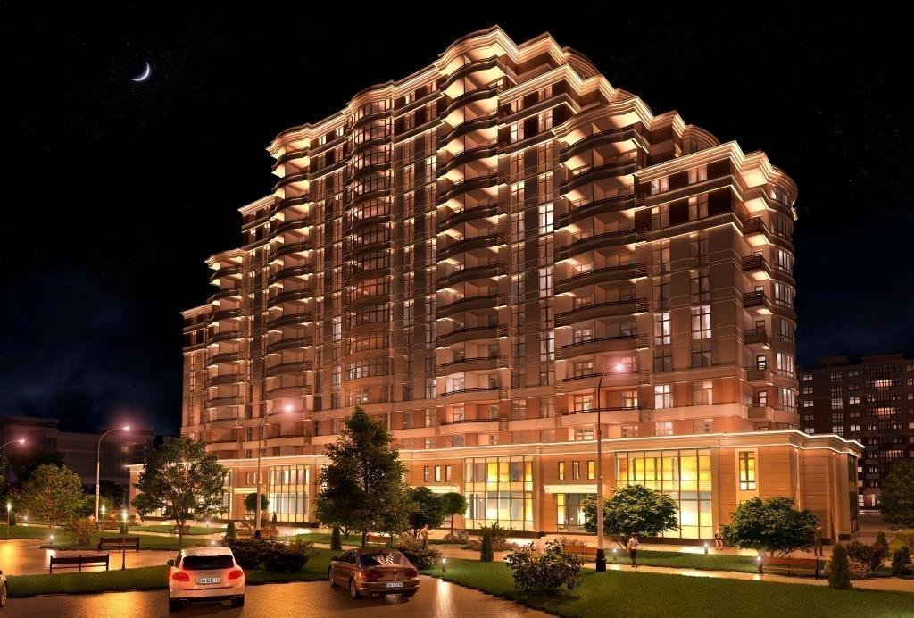 Buy an apartment in a new building Gold City residential comlex