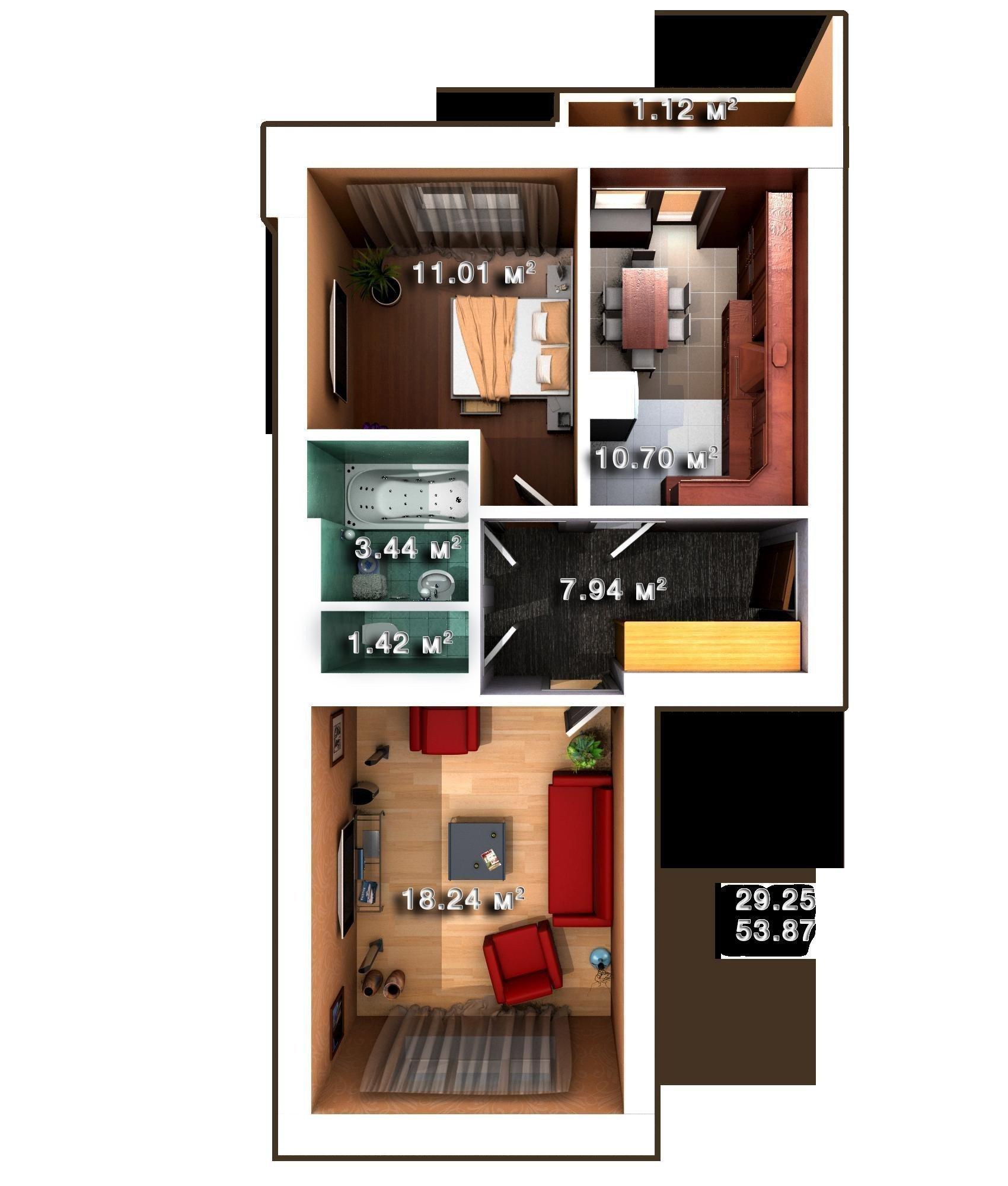 Продам квартиру в городе Ирпень. Объявление № 3638