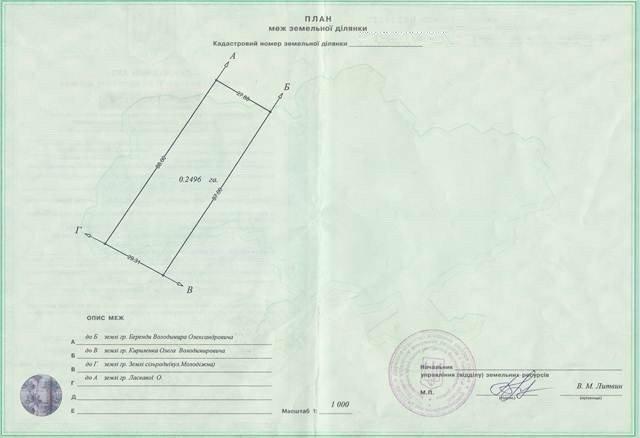 Продам земельный участок в городе Селище. Объявление № 3652