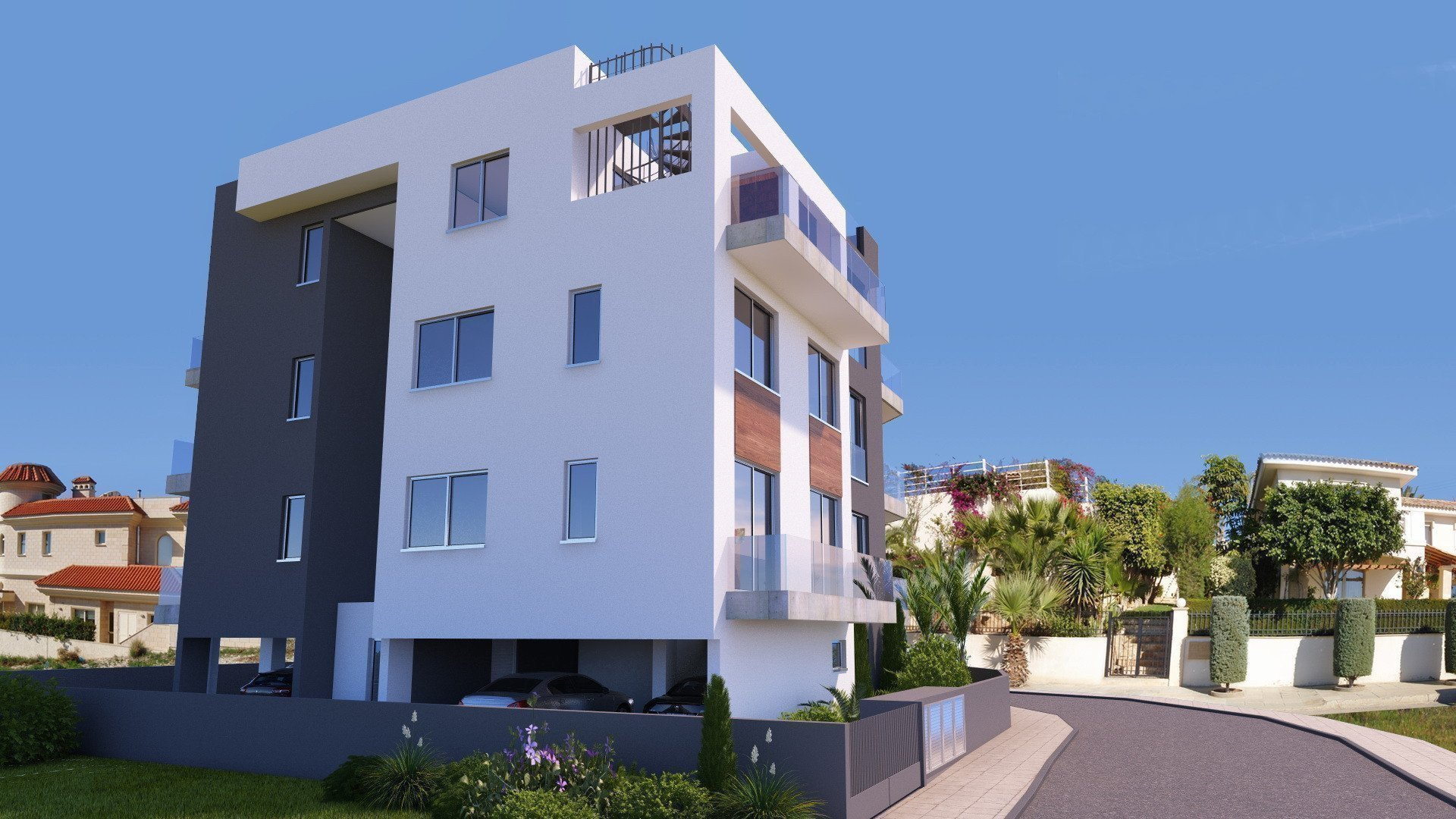 Buy property abroad Sale new apartment in Cyprus