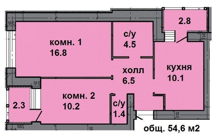 Продам квартиру в городе Ирпень. Объявление № 6028