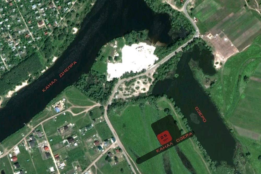 Продам земельный участок в городе Осещина. Объявление № 3191
