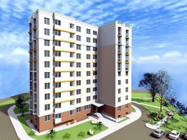 Buy an apartment in a new building New building on Chernyshevsky in Brovary
