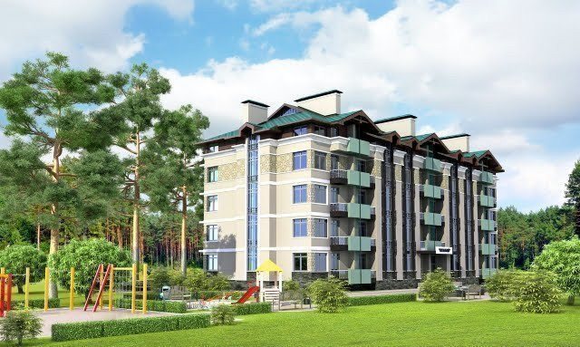 Buy an apartment in a new building Parkoviy
