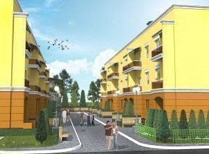 Buy an apartment in a new building Petrovsky yard RC