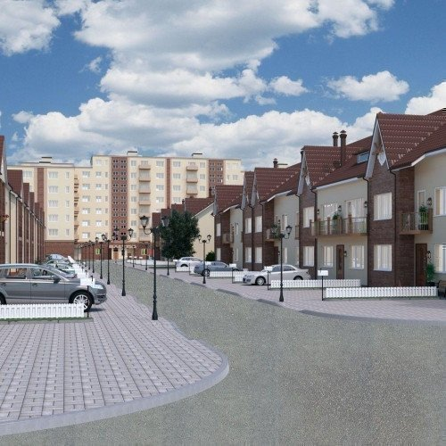 Photo: Townhouses «New Parkovij»