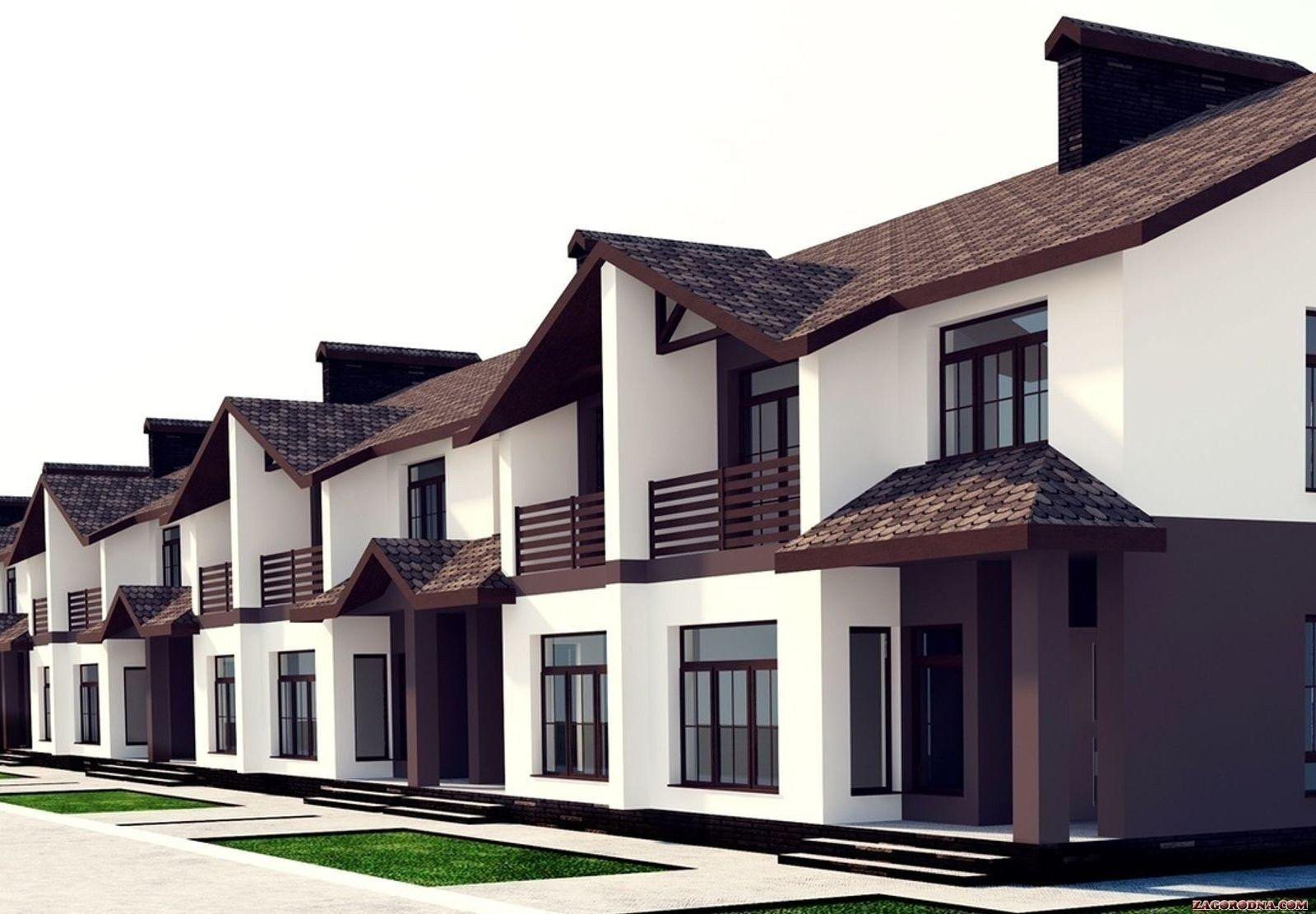 Private developers Rivne actively build townhouses