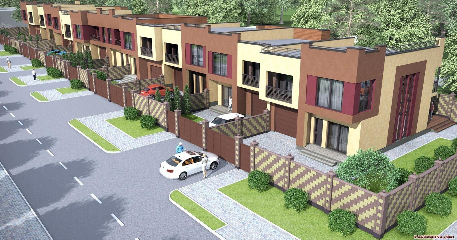 Buy a cottage town Townhouses «Ten Houses»
