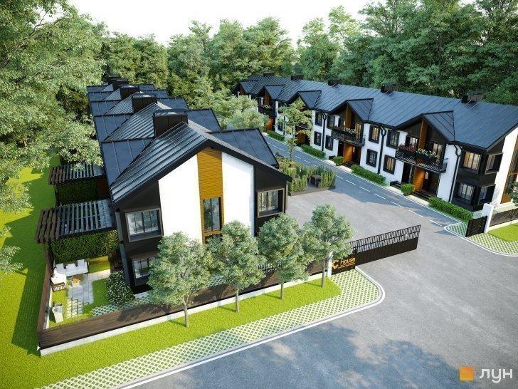Купить котеджный городок Таунхаусы «C'House»