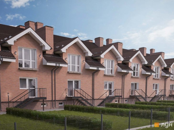Buy a cottage town «Borispol Village» townhouses