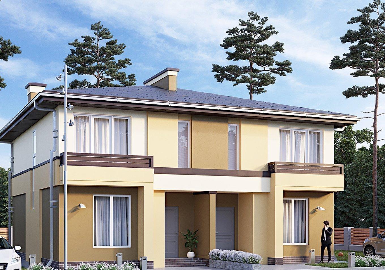 Купити котеджне містечко «Grand Residence» дуплекси