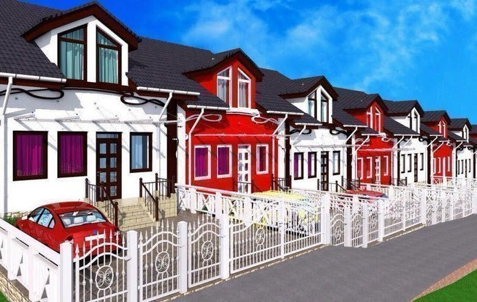 Buy a cottage town Grass House cottage town