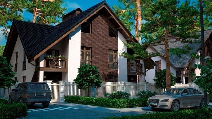 Buy a cottage town Park Residence cottage town