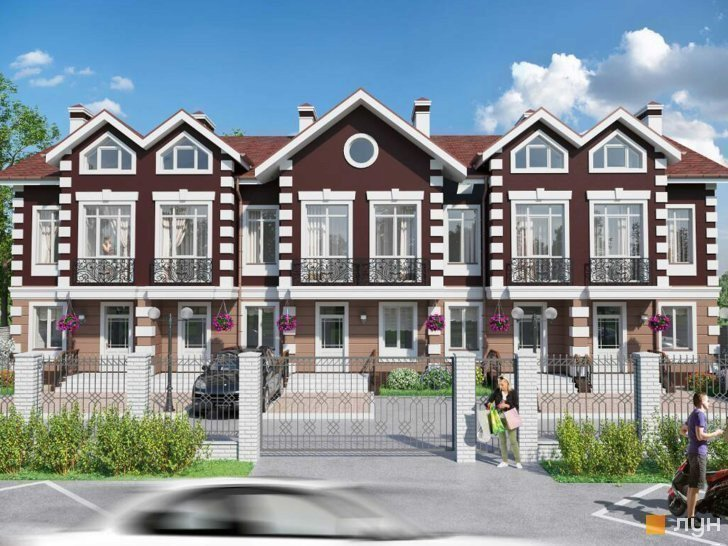 Buy a cottage town Forest Manor townhouses