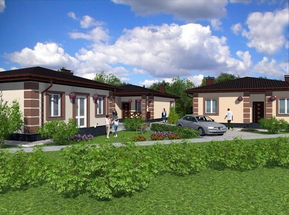 Buy a cottage town New Kiev cottage town