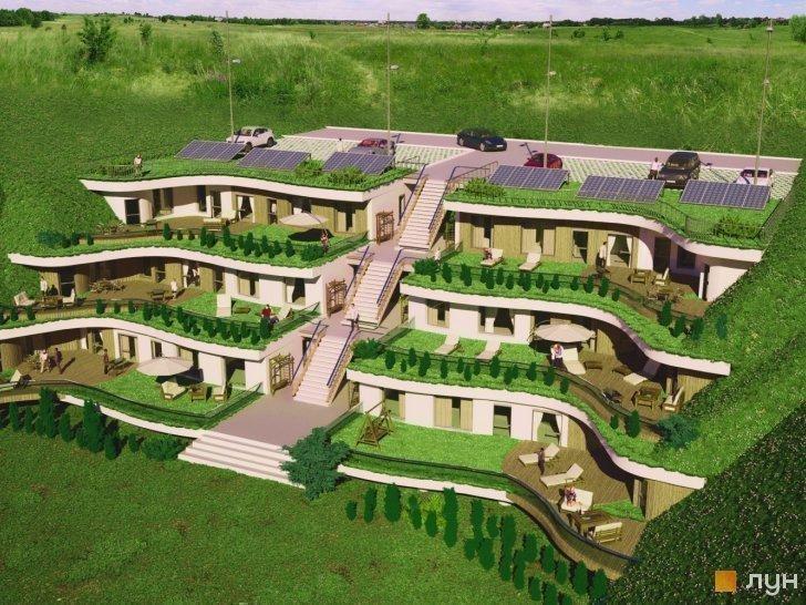 Купити котеджне містечко «Organic Home» таунхауси