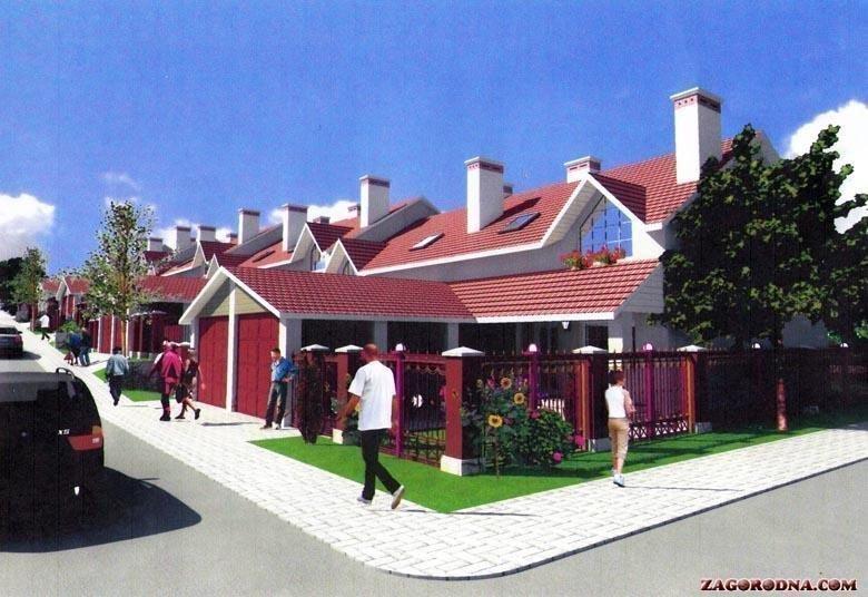 Купить котеджный городок Таунхаусы в Каменец-Подольском