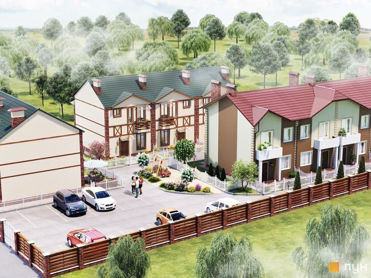 Buy a cottage town Townhouses in Bucha