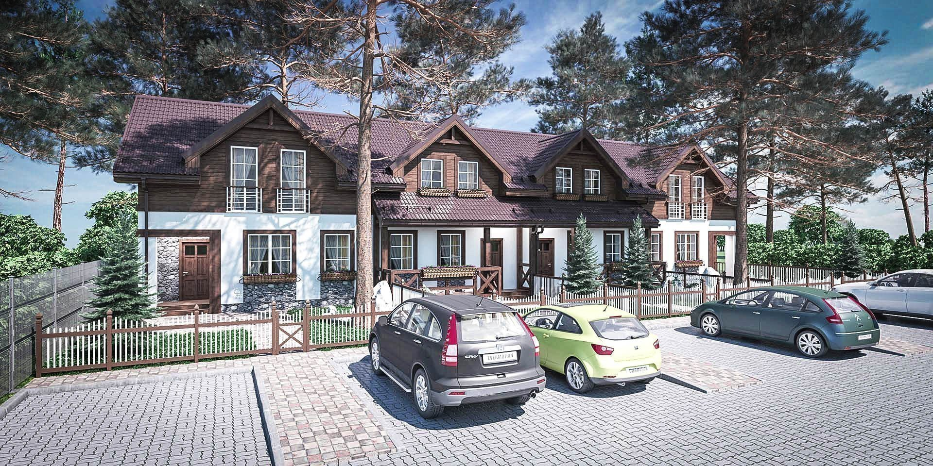 Buy a cottage town Townhouse «Desna Residence»