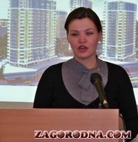 Наталя Проніна виступає на бізнес-зустрічі 24.02.2011