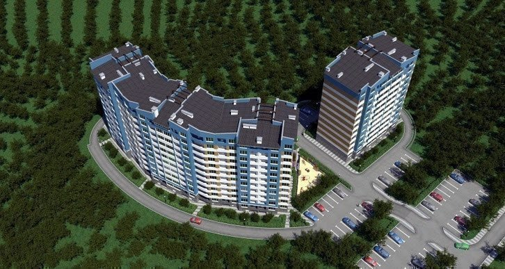 Buy an apartment in a new building 4 Карата RC