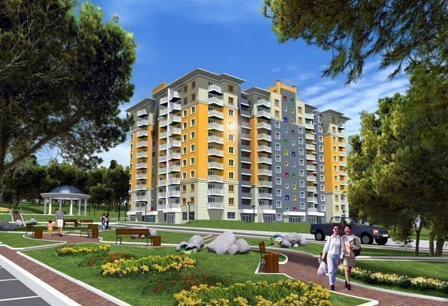 Buy an apartment in a new building Kampa residential comlex