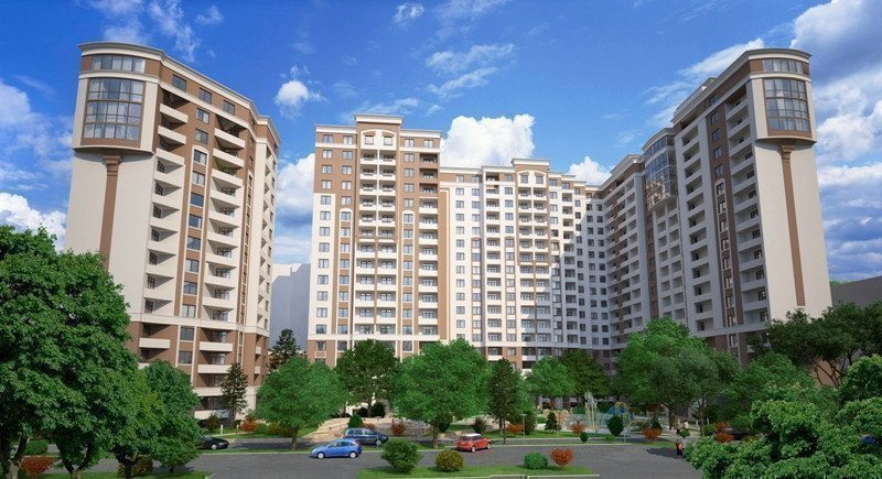 Buy an apartment in a new building Palladium residential comlex