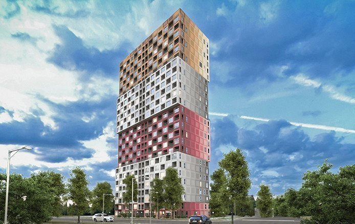 Buy an apartment in a new building A12 at the Olympic residential comlex