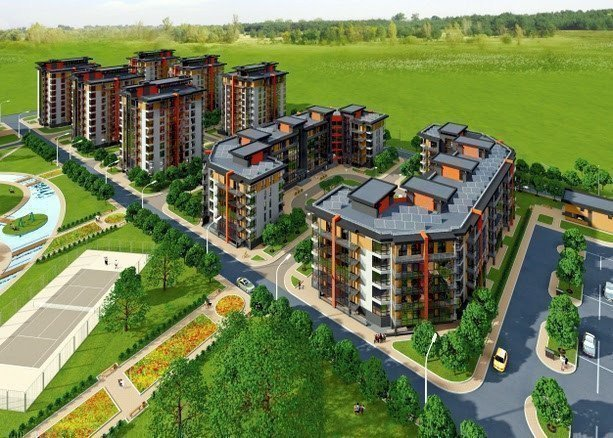 Buy an apartment in a new building Airport City residential comlex