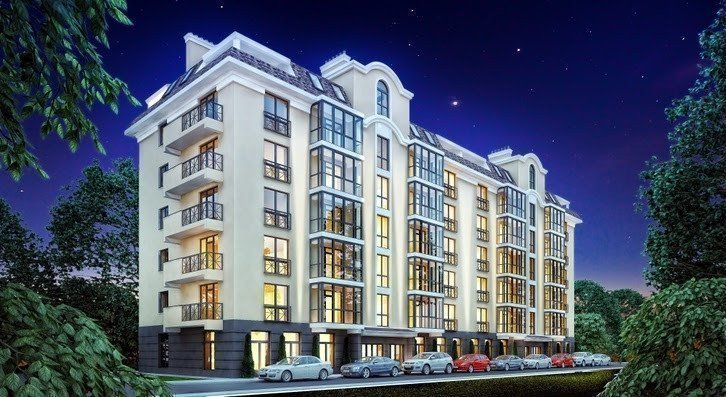 Buy an apartment in a new building Almond apartments RC