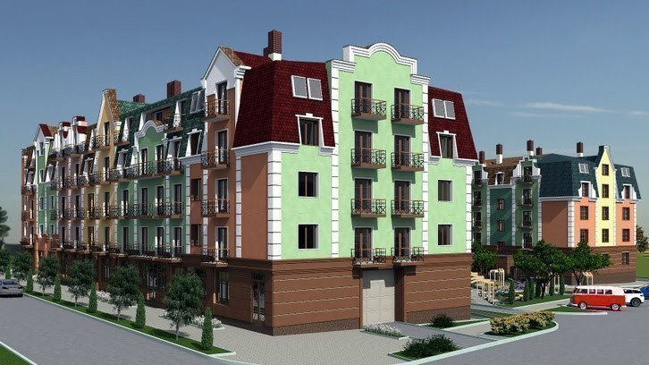 Buy an apartment in a new building «Aurora» RC
