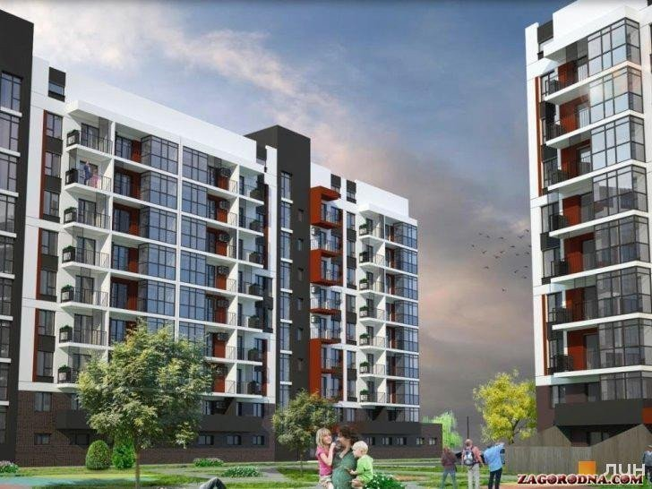 Buy an apartment in a new building Aurora Hall residential comlex