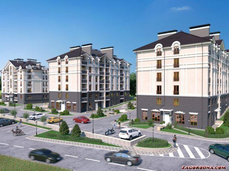 Buy an apartment in a new building Barviha RC