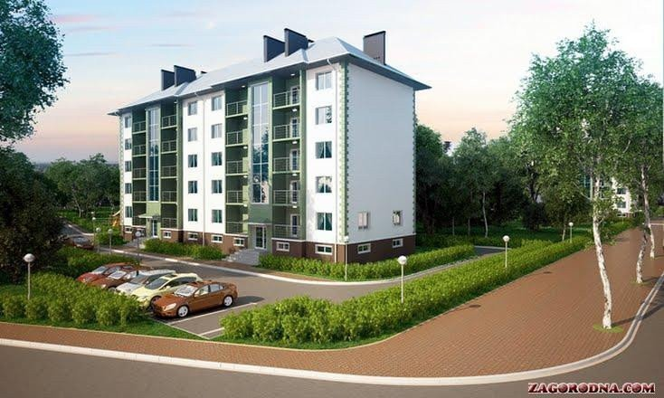 Buy an apartment in a new building Belogorodka RC