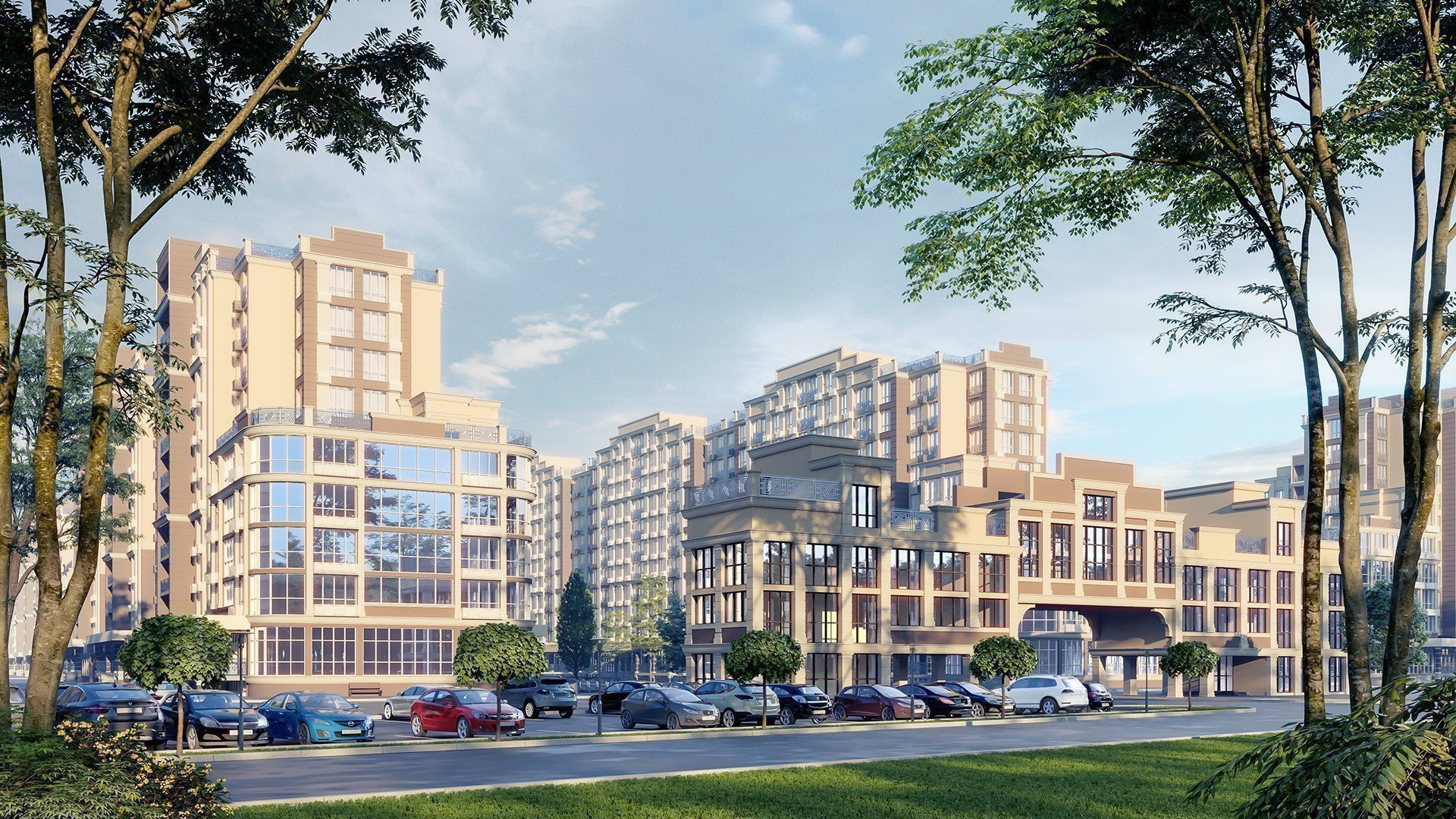 Buy an apartment in a new building «Blagorod» residential comlex