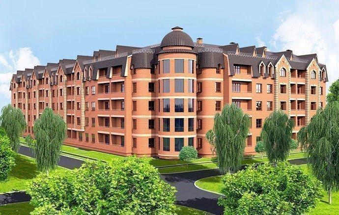Buy an apartment in a new building Borispol DeLuxe residential comlex