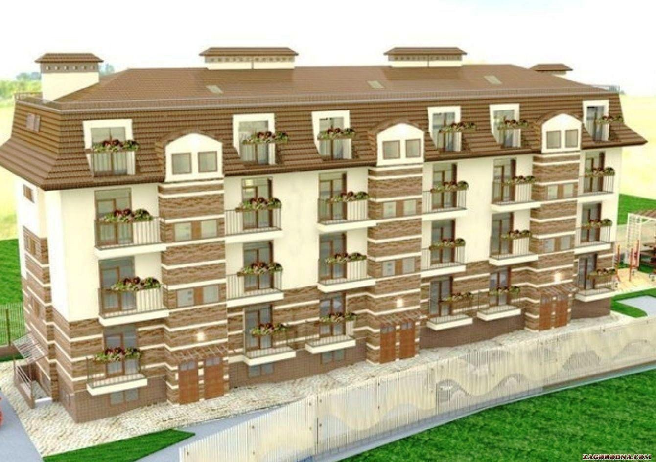 Buy an apartment in a new building Bravo club house