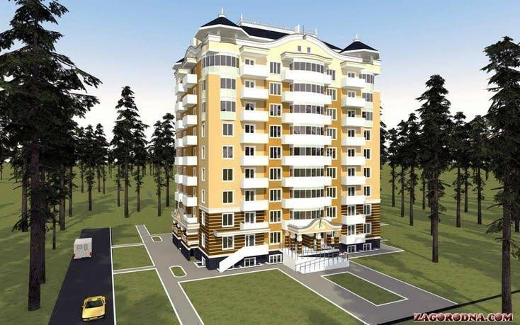 Buy an apartment in a new building Park apartment RC