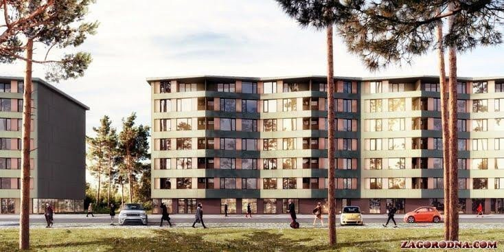 Buy an apartment in a new building ParkTown RC